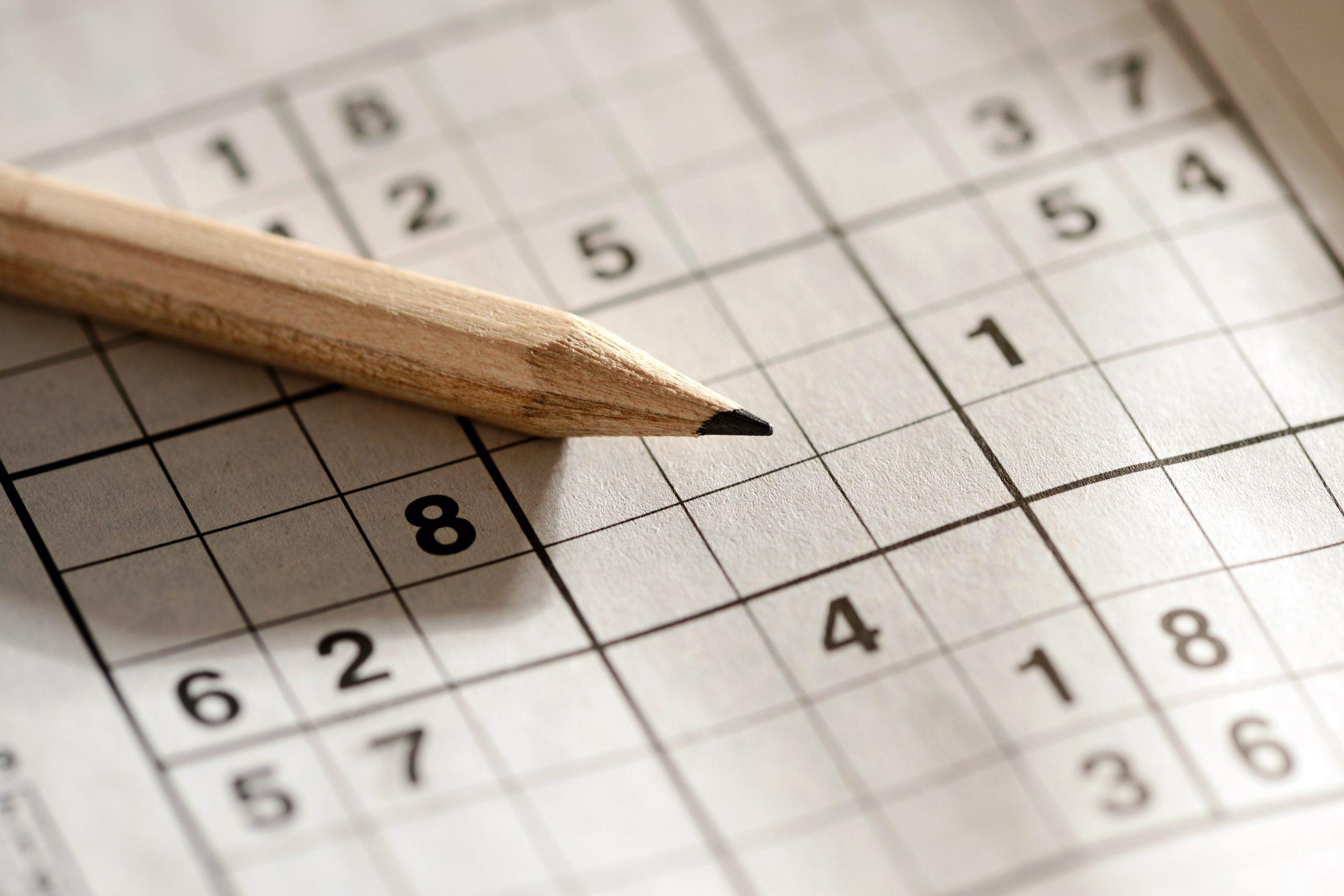 Oletko pelannut vielä sudokua?